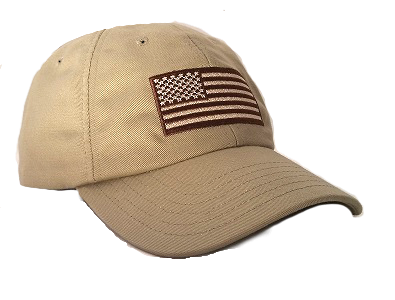The Khaki American Flag Tactical Hat has been seeing service on the US -  Mexico border and in the middle east since we created it. This durable 8311809da79