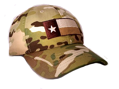 The Texas Flag Multicam Hats are made of tough NYCO Rip Stop a338aafe8ee